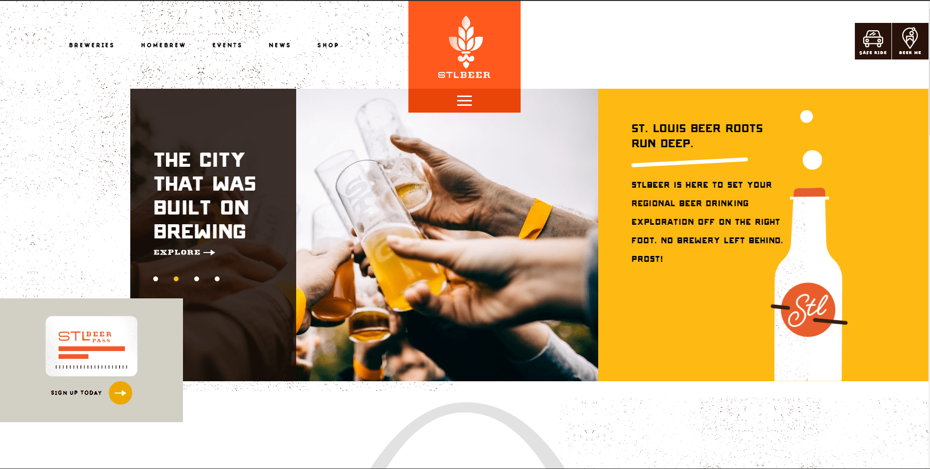 4 Well-Designed Craft Beer Websites
