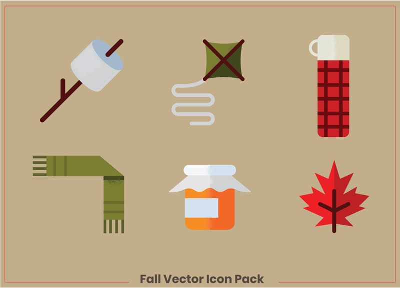 Fall-Icons