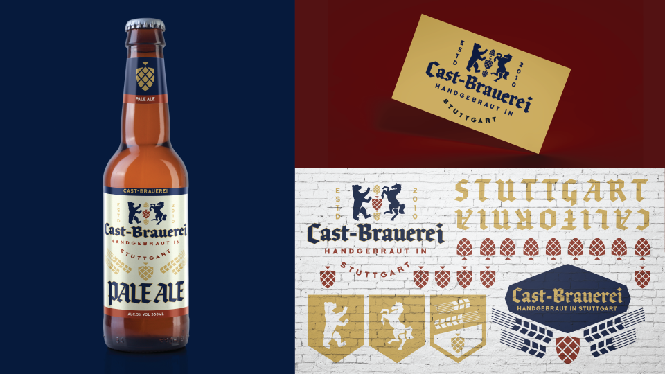 German Brewery Identity Refresh