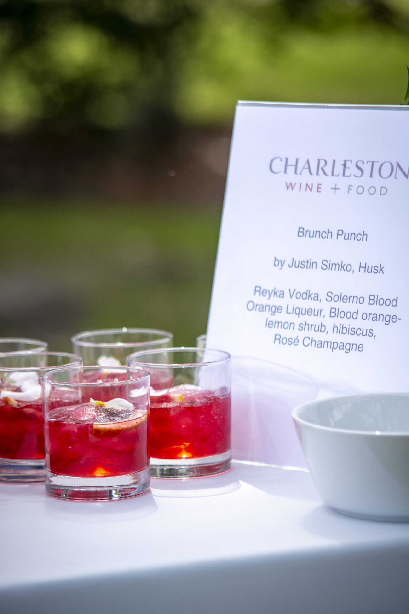 Charleston Wine and Food Festival 2020
